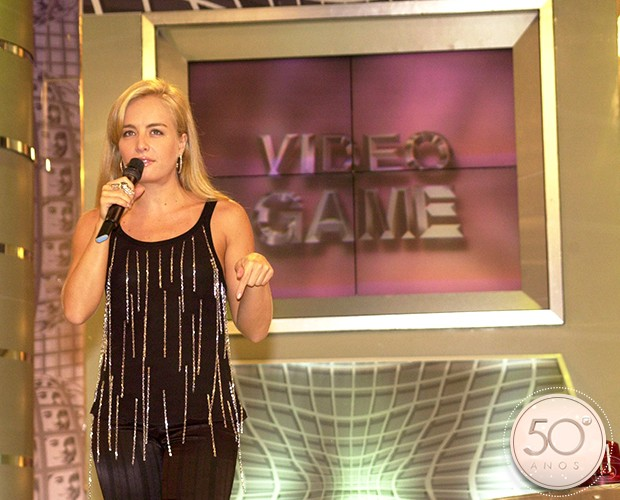 Angélica comandou o programa Vídeo Game por 10 anos (Foto: João Miguel Junior / TV Globo)