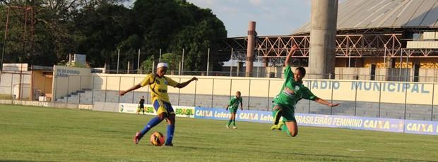 Tiradentes-PI x Viana, Campeonato Brasileiro de Futebol Feminino (Foto: Renan Morais)