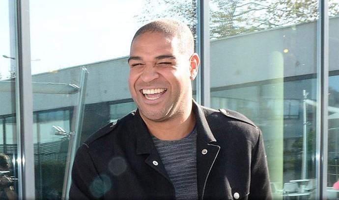 Adriano no Le Havre (Foto: Reprodução / Twitter)