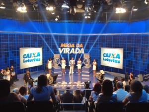 Sorteio da Mega-Sena da Virada aconteceu em São Paulo (Foto: Roney Domingos/G1)