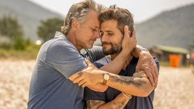'Sol': Vittorio confessa que está apaixonado por Lenita  (Ellen Soares/Gshow)