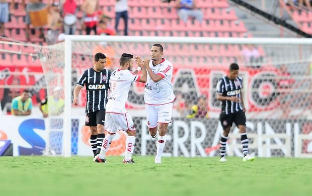 Ituano x Corinthians - gol Ituano (Foto: Marcos Ribolli)