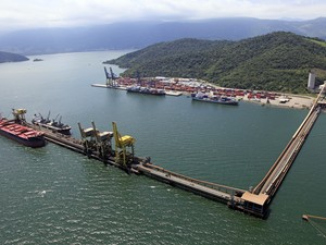 Porto de Itaguaí (Foto: Acervo CDRJ)