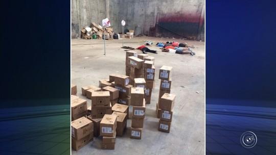 Polícia investiga se homens presos com carga milionária de celulares e computadores participaram do roubo