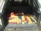 PM localiza 85 kg de maconha em Luz (Policia Militar/ Divulgação)