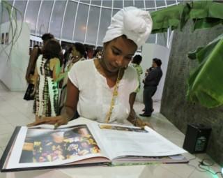 Exposição conta a tradição quilombola (Foto: Dalila Lemos / TV Rio Sul)