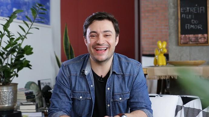 Rafael Primot, ator de Itapeva, vai atuar pela primeira vez em uma novela das nove (Foto: Reprodução/TV TEM)