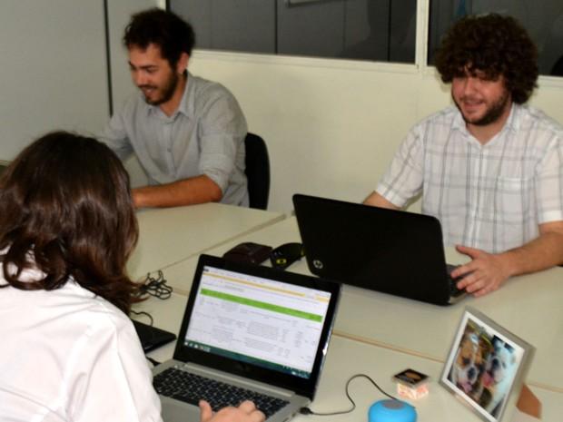 Colaboração e afinidade entre os serviços é um dos segredos do coworking inteligente (Foto: Priscilla Geremias / G1)