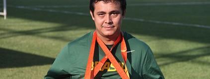 Espírito paralímpico: David Freitas vai ao Rio sem se importar com medalha (Divulgação/Cearasc.com)
