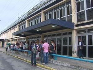 Hospital Oswaldo Cruz, no Recife (Foto: Reprodução / TV Globo)