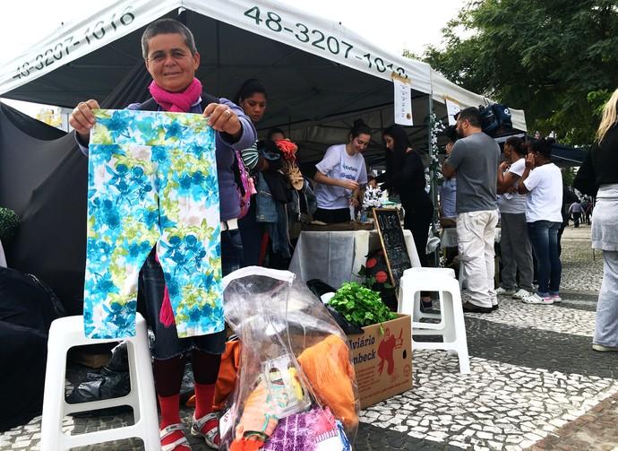 Mistura mostra que voluntários montam loja para pessoas em situação de rua  (Foto: RBS TV/Divulgação)