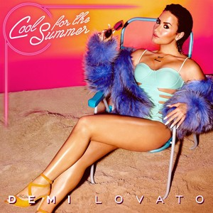 Capa do single 'Cool for the summer', de Demi Lovato (Foto: Divulgação)