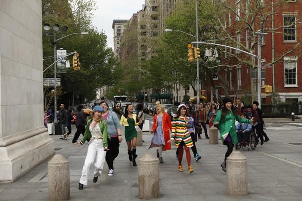 Glee - Euforia: jovens do clube glee chegam a Nova York para as competições nacionais (Foto: Divulgação / Twentieth Century Fox)