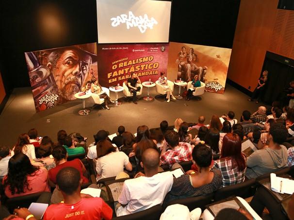 Seminário o realismo fantástico em saramandaia: globo universidade (Foto: Divulgação/Gianne Carvalho)