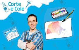 Corte e Cole: Aquarela