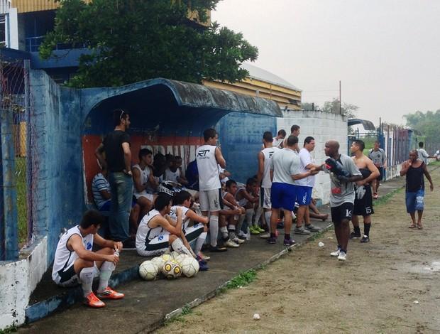 Taubaté treino (Foto: Arthur Costa/ Globoesporte.com)