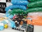 Sete pessoas são detidas suspeitas de tráfico de drogas em Marília