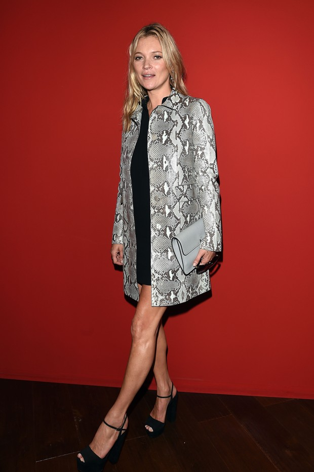 Kate Moss no desfile da Gucci (Foto: Getty Images)