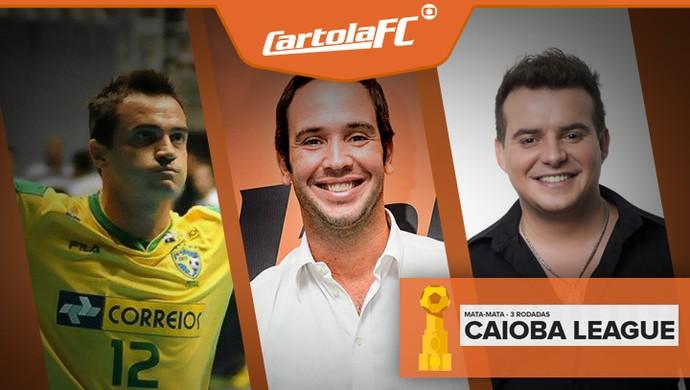 CARROSSEL - CARTOLA Falcão Caio Ribeiro e Belutti (Foto: Editoria de Arte)