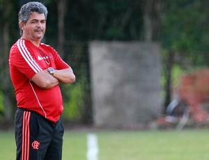 Ney Franco Treino Flamengo (Foto: Gilvan de Souza/Flamengo)