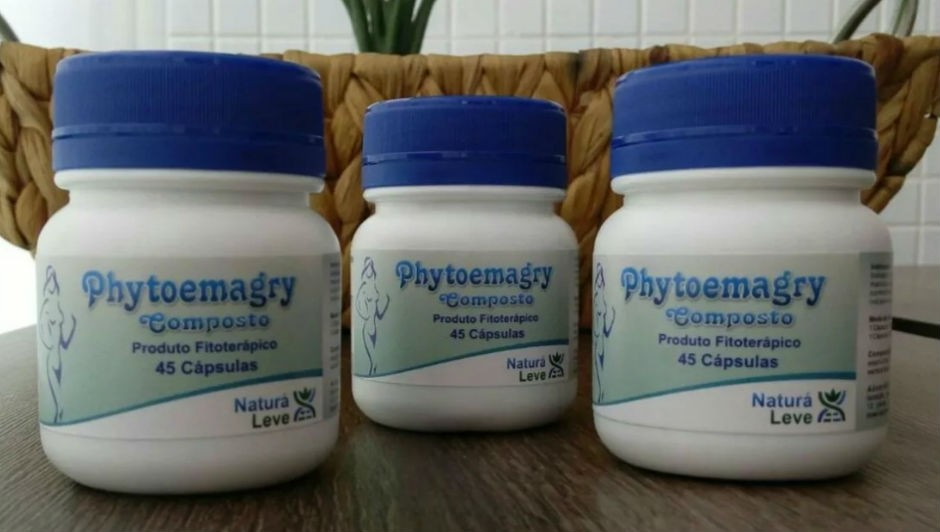 Phytoemagry é um dos emagrecedores cujo comércio foi proibído pela Anvisa (Foto: Reprodução)