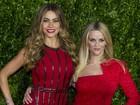 Sofia Vergara e Reese Witherspoon participam de première no México