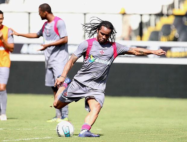 Carlos Alberto no treino do Vasco (Foto: Marcelo Sadio / Site Oficial do Vasco da Gama)