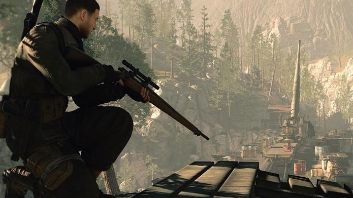Saber se posicionar é a chave para vencer em Sniper Elite 4 (Foto: Divulgação/Rebellion)