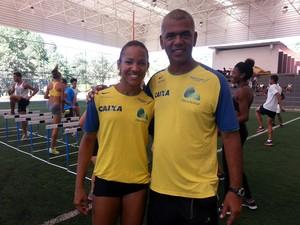 Keila Costa e Neílton (Foto: Rafaela Borges)