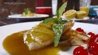 No quadro 'Segredos da Cozinha' tem uma receita de peixe com molho de laranja