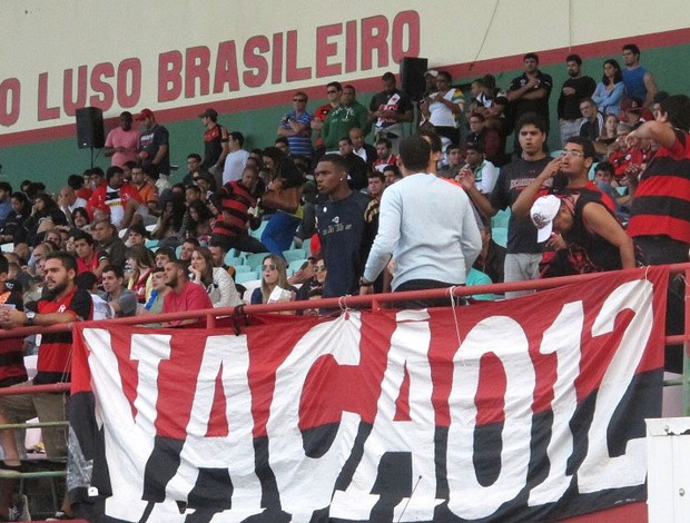 Flamengo x Botafogo Futebol Americano (Foto: Adriano Albuquerque)