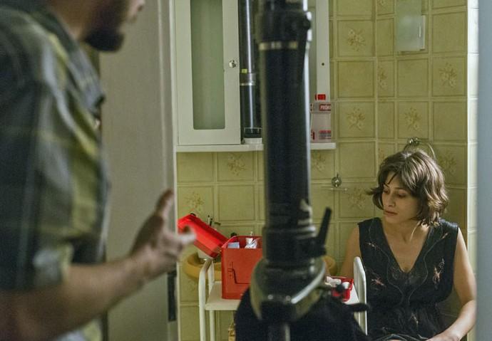 Marcelo se surpreende com atitude da esposa (Foto: Ellen Soares/Gshow)