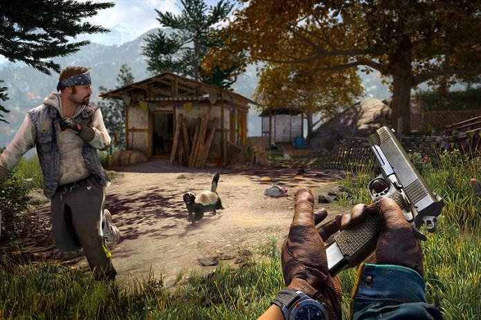 Ratel é o bicho mais perigoso de Far Cry 4 (Foto: Divulgação)