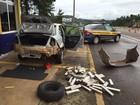 Polícia prende dois homens com 53,5 kg de maconha em Laranjeiras do Sul