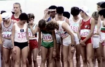Suíça volta ao estádio onde quase desmaiou na maratona olímpica de 84