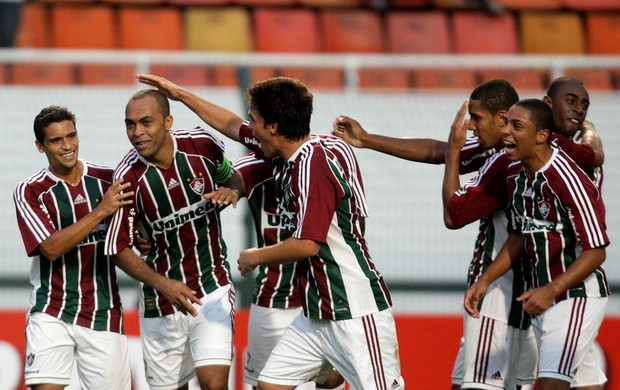 Leandro Euzébio gol Fluminense (Foto: Photocâmera)