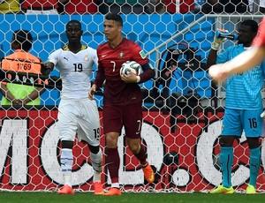 Cristiano Ronaldo gol Portugal x Gana (Foto: Reuters)