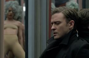 Justin Timberlake em ação no clipe da música 'Mirrors' (Foto: Reprodução)