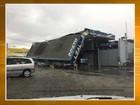Defesa Civil contabiliza danos em ao menos 9 cidades de SC após temporal