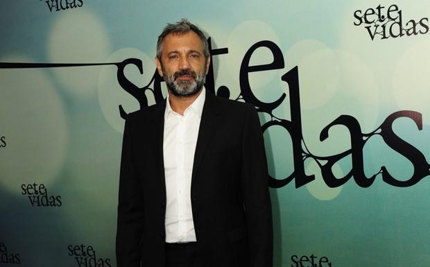 Domingos Montagner foi o protagonista da novela Sete Vidas (Foto: Globo / Estevam Avellar)