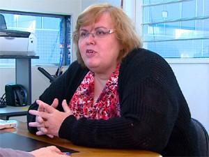A secretária de Saúde, Miriam Daisy Calmon Scaggion (Foto: Reprodução/EPTV)