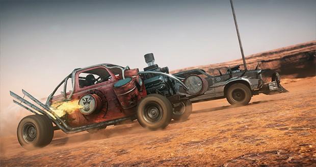 Cena de gameplay de Mad Max, para Xbox One, Playstation 4 e PC (Foto: Reprodução)