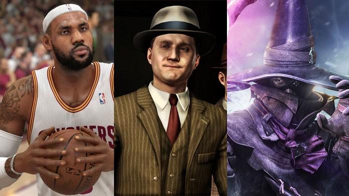 NBA, LA Noire e Final Fantasy entre as ofertas da seman (Foto: Reprodução)
