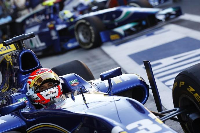 Felipe Nasr em Sochi, na corrida 1 da GP2 na Rússia (Foto: Divulgação)