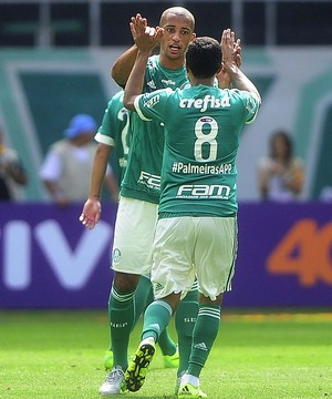 Cleiton Xavier, Palmeiras x Flamengo (Foto: Marcos Ribolli)