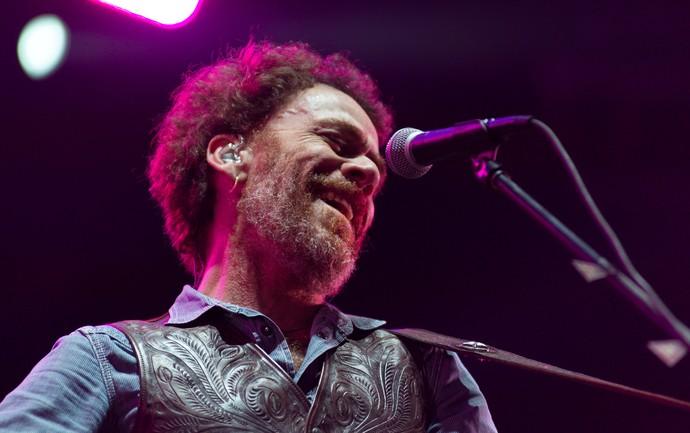 Nando Reis é um dos grandes ídolos do festival João Rock em Ribeirão Preto, SP (Foto: Érico Andrade/Gshow)
