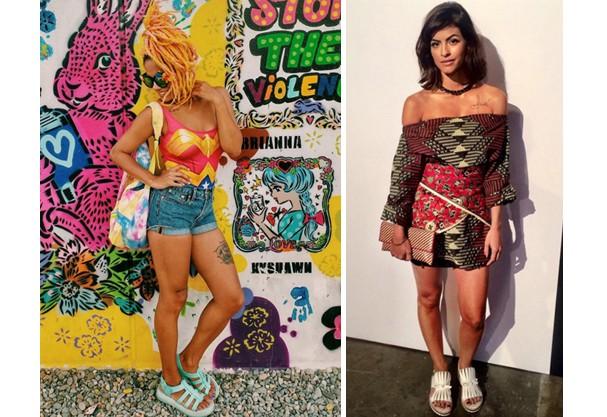 A blogueira Magá e apresentadora Marina Santa Helena (Foto: Reprodução/ Instagram)