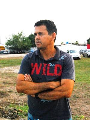 Jazon Vieira, gerente de futebol do Auto Esporte (Foto: Lucas Barros / Globoesporte.com/pb)