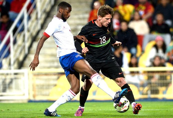 96b6152a89 Portugal estreia novo uniforme e oito novatos em derrota para Cabo Verde