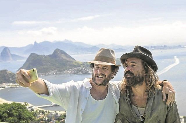 Roberto Birindelli e Julio Andrade (Foto: Dan Behr)